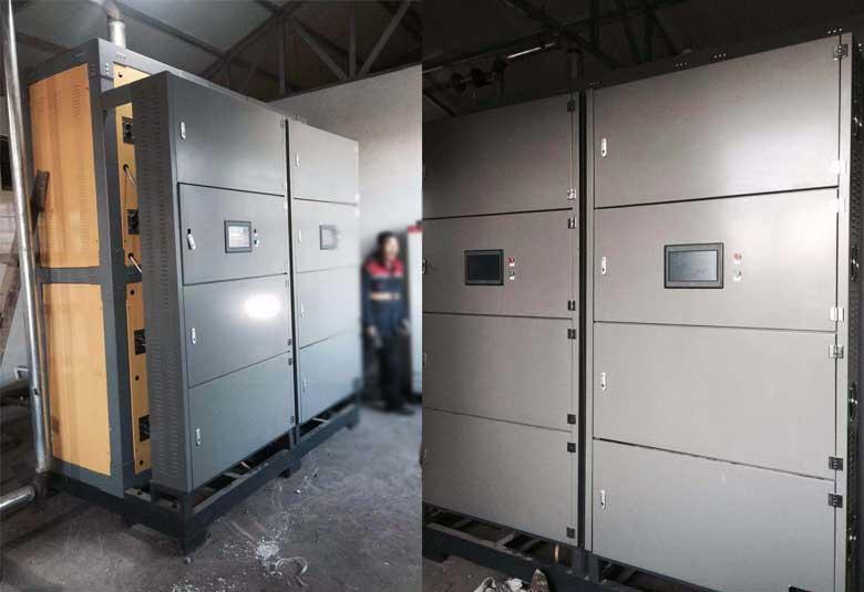 山西大同鹊山高家窑煤矿1吨电磁热水锅炉