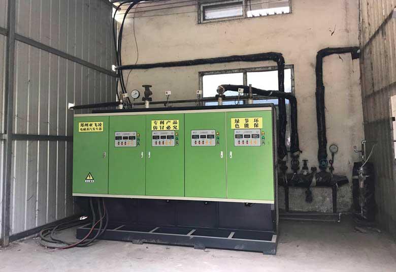 焦作木业公司400KW电磁蒸汽锅炉