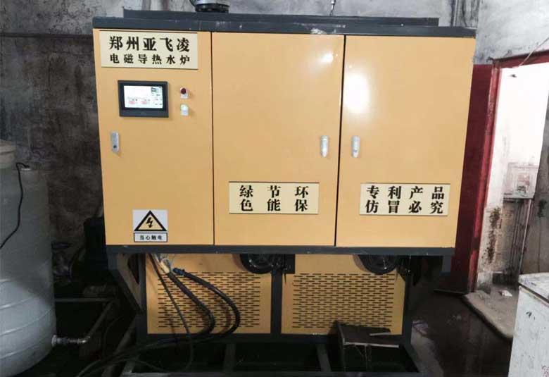 武乡县山海商砼有限公司260KW电磁热水锅炉取暖项目