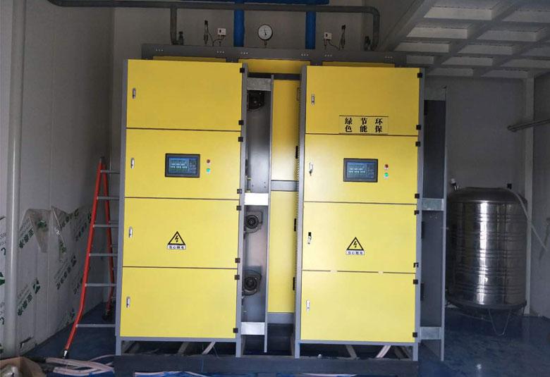 辽宁生物发酵用电磁蒸汽锅炉项目