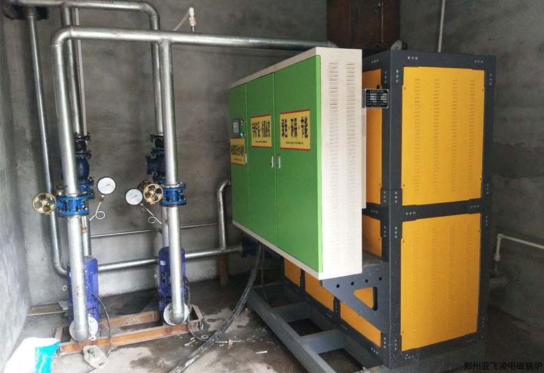三门峡灵宝金矿150KW采暖电锅炉